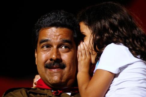 Är det hemligheten till revolutionens slutgiltiga seger Maduro får höra?